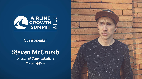 Guest Speaker: Steven McCrumb, Ernest Airlines