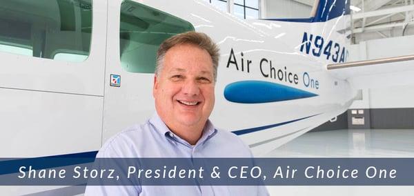 Air Choice One President & CEO Shane Storz