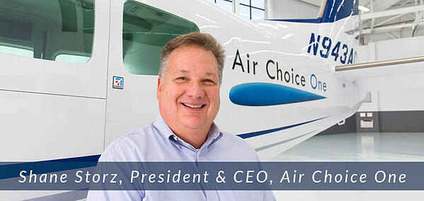 Air Choice One President & CEO Shane Storz