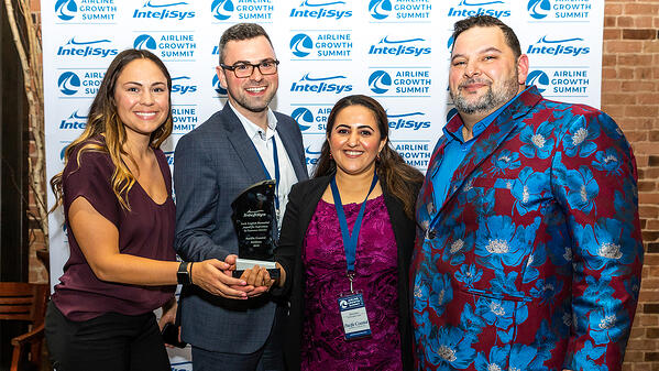 British Columbia's Pacific Coastal Airlines won the Jock English Memorial Award for Supremacy in Customer Service for the second time in three years