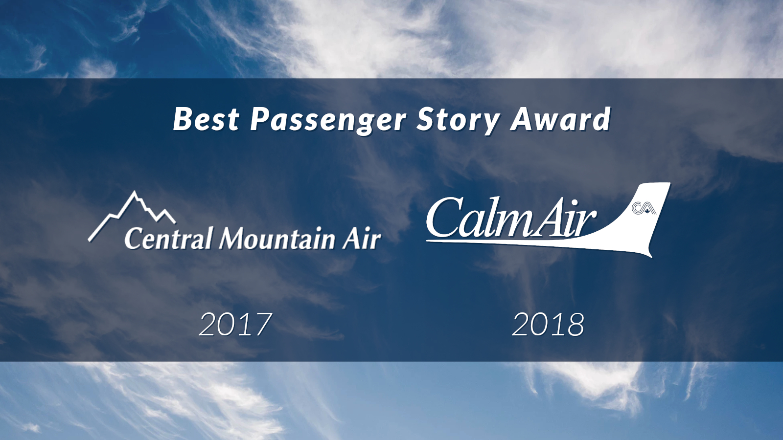 AGS Blog - Award Winners - Passenger Story [1,600 x 900]