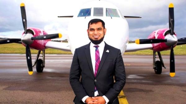 Firnas Airways' Founder & CEO, Kazi Shafiqur Rahman