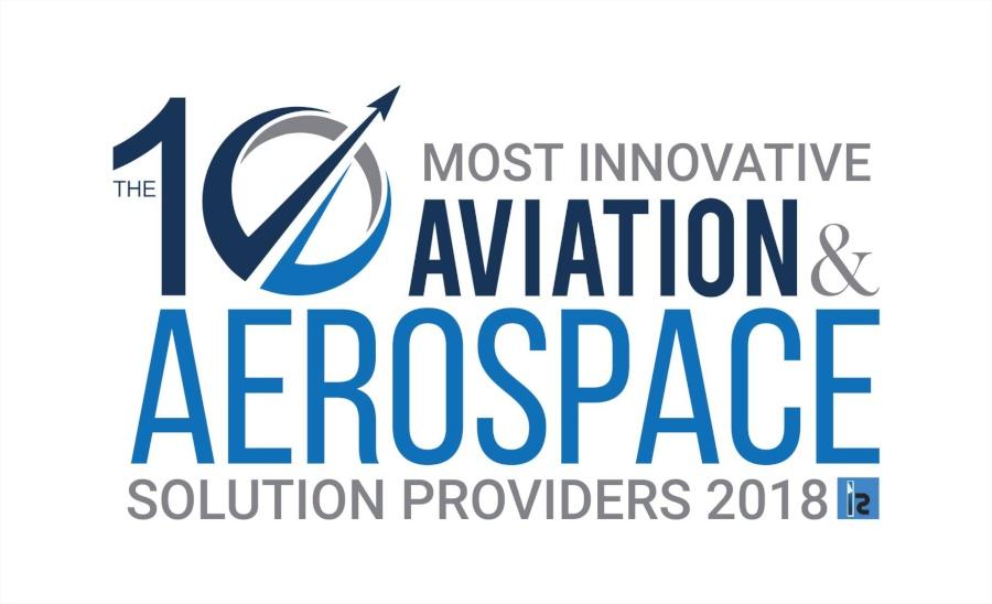 Most Innovative Aviation & Aerospace Solution Providers 2018 Logo